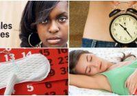 cuales son los beneficios de los ciclos menstruales irregulares