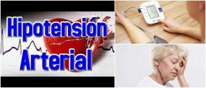 ¿Qué es la Hipotensión o Presión Arterial Baja? Causas..