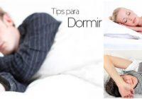 tips para dormir mejor y rápido