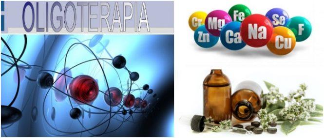 terapia que utiliza los oligoelementos o minerales