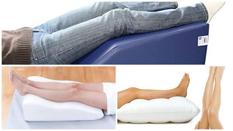 Reducir la presión hidrostática intravascular elevando las piernas
