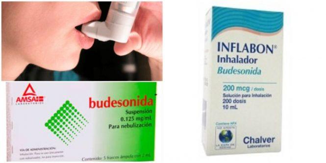 Contraindicaciones de la budesonida