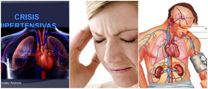 Definición de crisis hipertensiva
