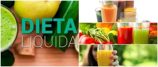 dieta liquida astringente