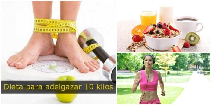 Dieta para adelgazar 10 kilos en poco tiempo un plan - Perder 10 kilos en 2 meses ...