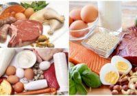 alimentos para dieta proteica