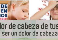 dolor de cabeza en niños causas