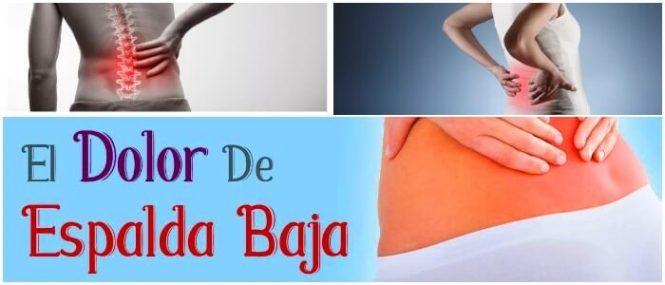 Dolor De Espalda Baja: Columna Lumbar, Síntomas, Tipos De..