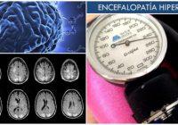Que es la encefalopatia hipertensiva