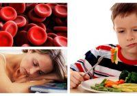 ematies bajos y hemoglobina baja