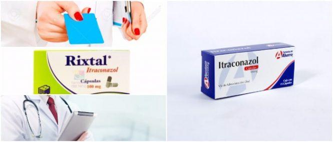 El itraconazol de 100 mg candidiasis