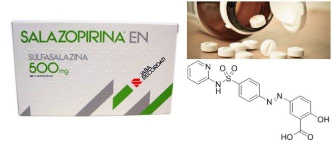 consumo de salazopirina con alcohol
