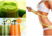 jugos para bajar de peso unos kilos y marcar el abdomen