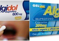 ¿el algidol es ibuprofeno?