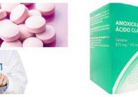 cual es la dosis de amoxicilina clavulanato