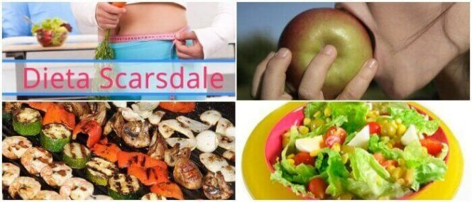 dieta scarsdale menu por dia