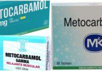 cuales son los usos del metocarbamol