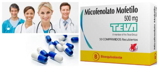 mecanismo de acción del micofenolato