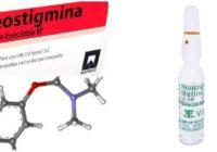 neostigmina como anestesia