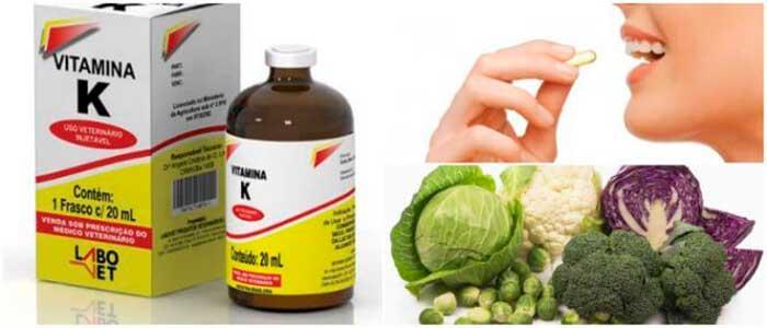 coagulación con vitamina k