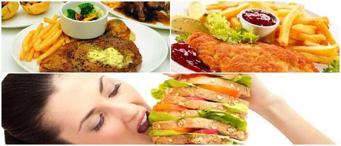 receta para una dieta hipercalórica