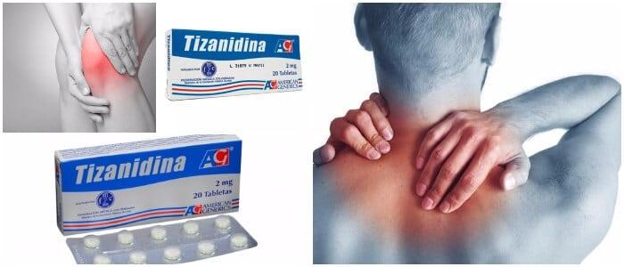 dosis de la tizanidina