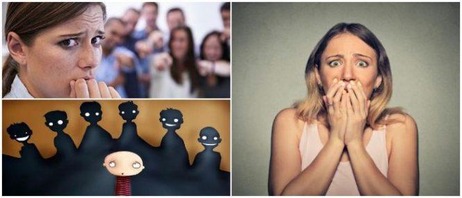 características de la fobia social