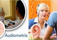 como es el examen de audiometría