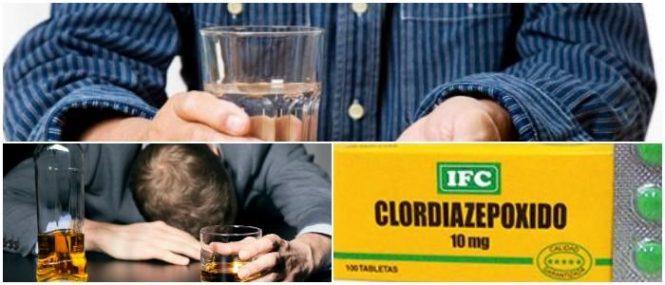 clordiazepóxido y alcoholismo