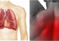 a que se debe el dolor en los pulmones