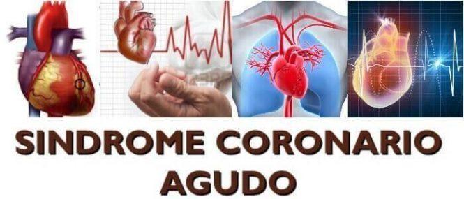 que es el sindrome coronario agudo sin elevacion del st