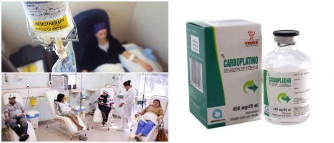 cual es el precio de carboplatino intravenoso