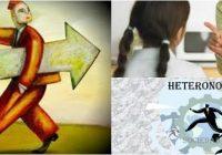 cual es la definición de heteronomía