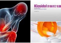 cuales son los efectos adversos del klosidol