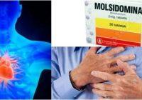 efectos secundarios de la molsidomina