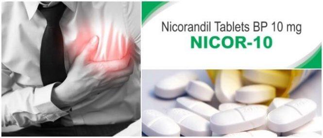 mecanismo de acción del nicorandil