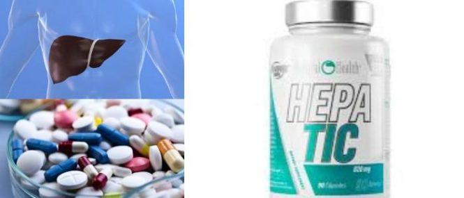 medicamento protector hepático