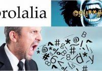 coprolalia definicion y ejemplos