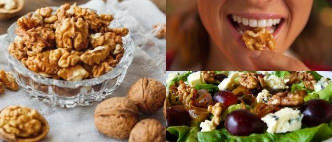 las nueces ayudan a cuidar el estomago