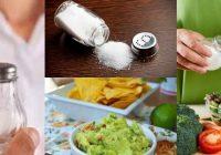 reducir la sal puede evitar la presion arterial alta