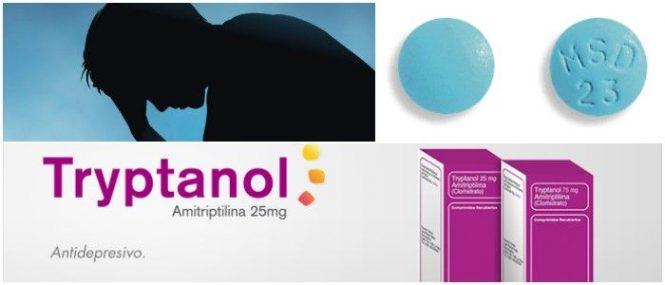el tryptanol y la amitriptilina