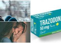 clorhidrato de trazodona dosis