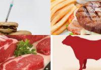 la carne de res contiene antibióticos