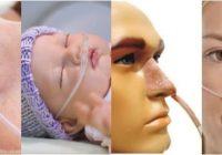 como es un catéter nasal para oxigeno