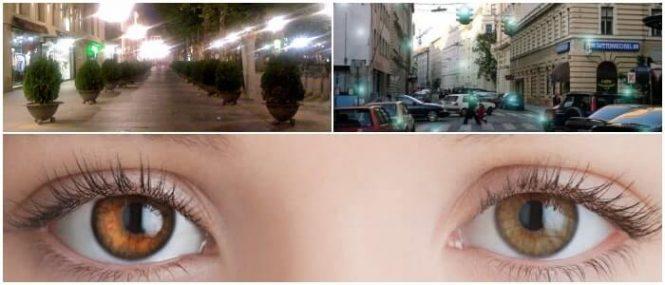 fotopsias al mover los ojos