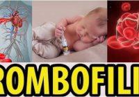 que significa la trombofilia adquirida