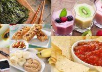 que son los snacks veganos
