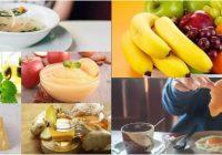 dieta para gripe estomacal